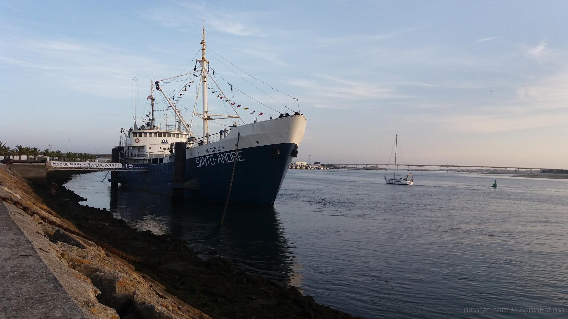 História/Navio museu Santo André...