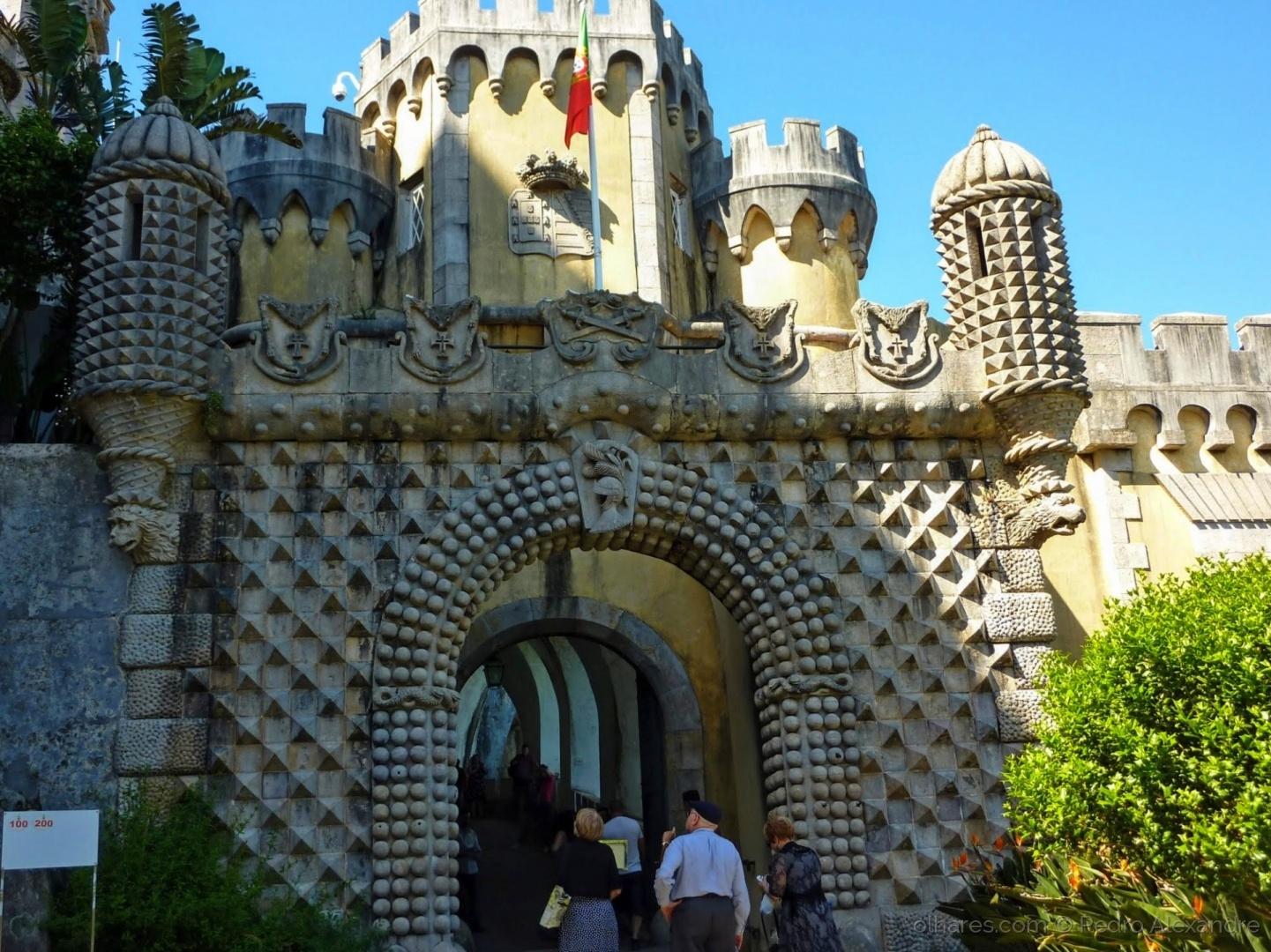 História/Porta Férrea do Palácio da Pena