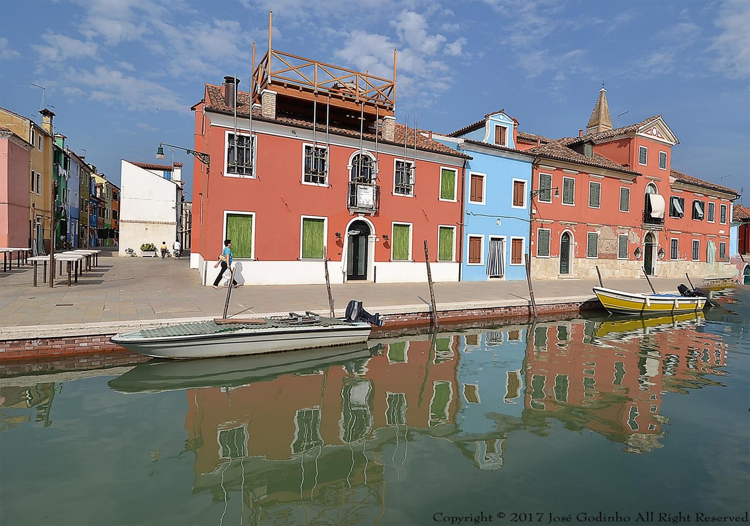 Paisagem Urbana/Burano - Itália