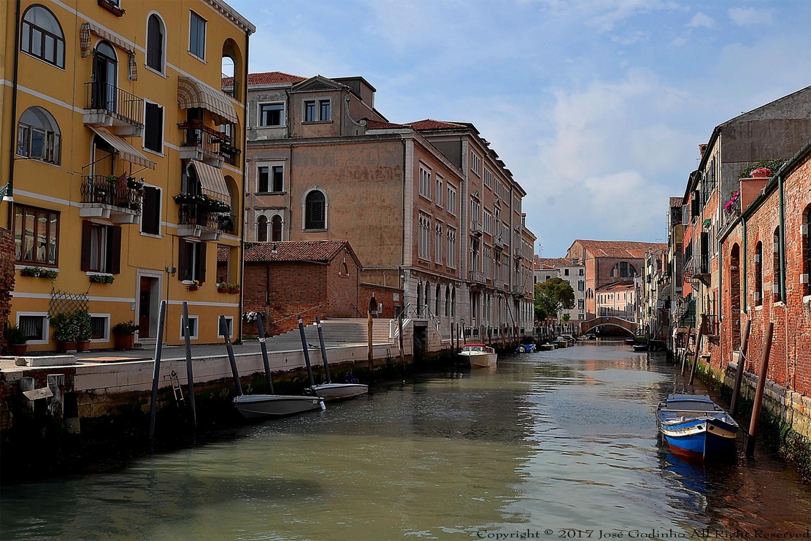 Paisagem Urbana/Veneza - Itália