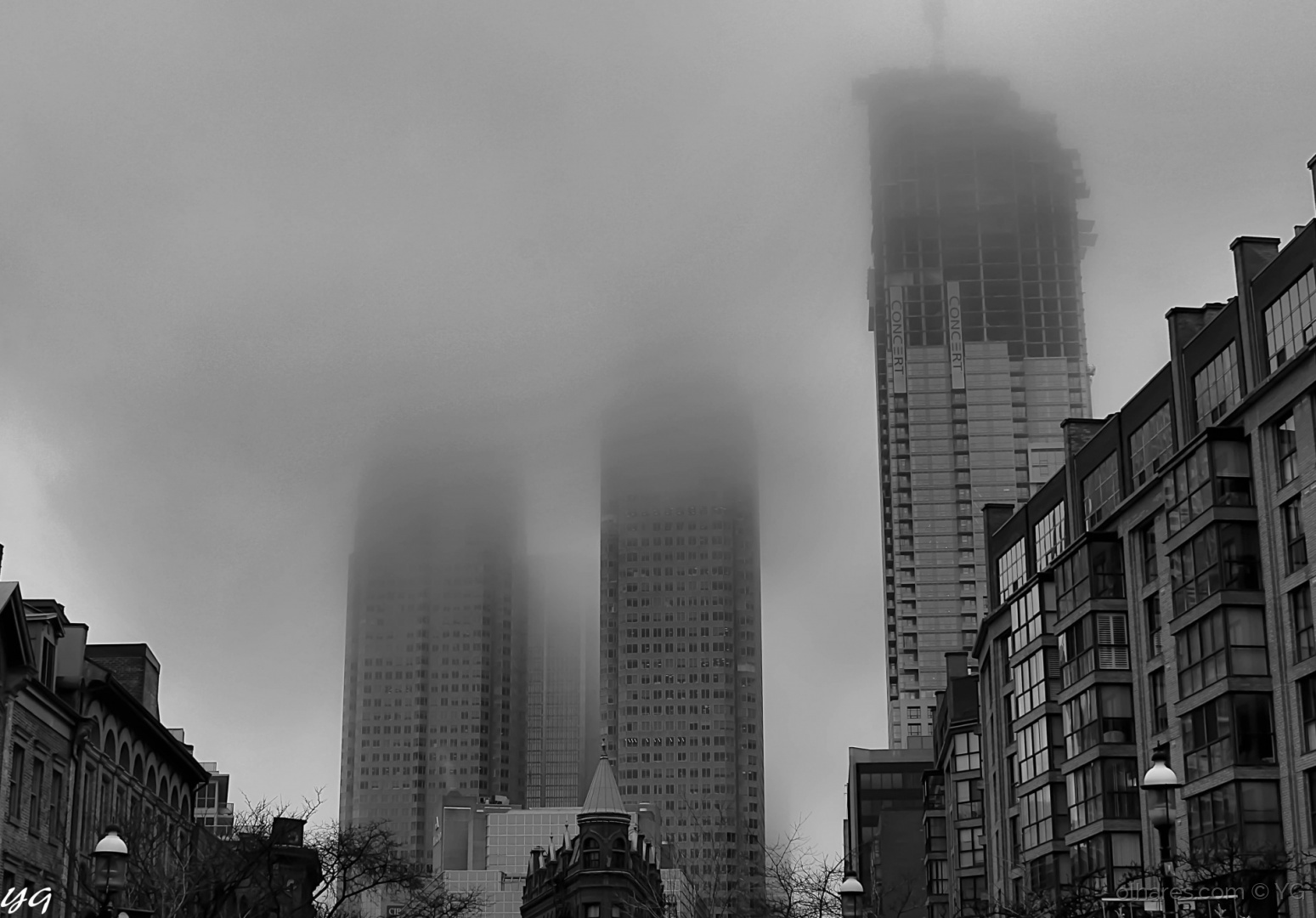 Paisagem Urbana/Dias  nublados