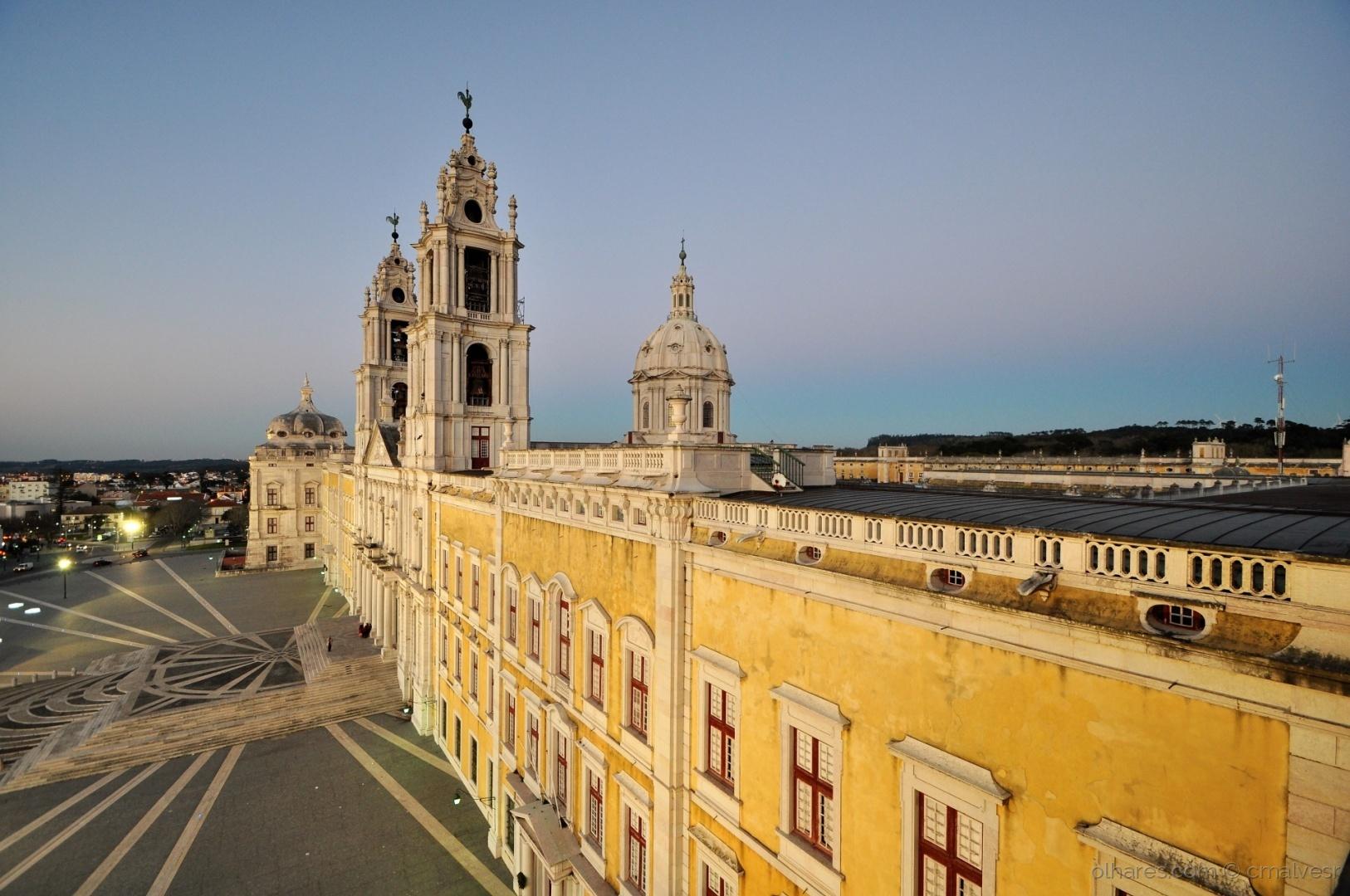 Gentes e Locais/300 anos ... Convento de Mafra