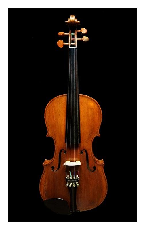 Outros/fotografar um violino (descrição)
