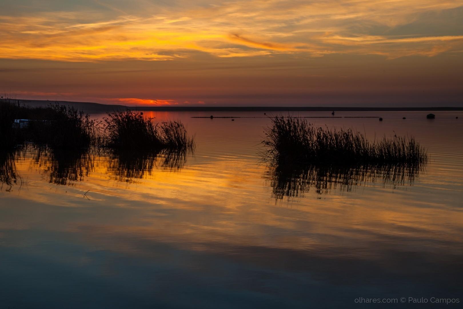 Paisagem Natural/Lagoa dourada