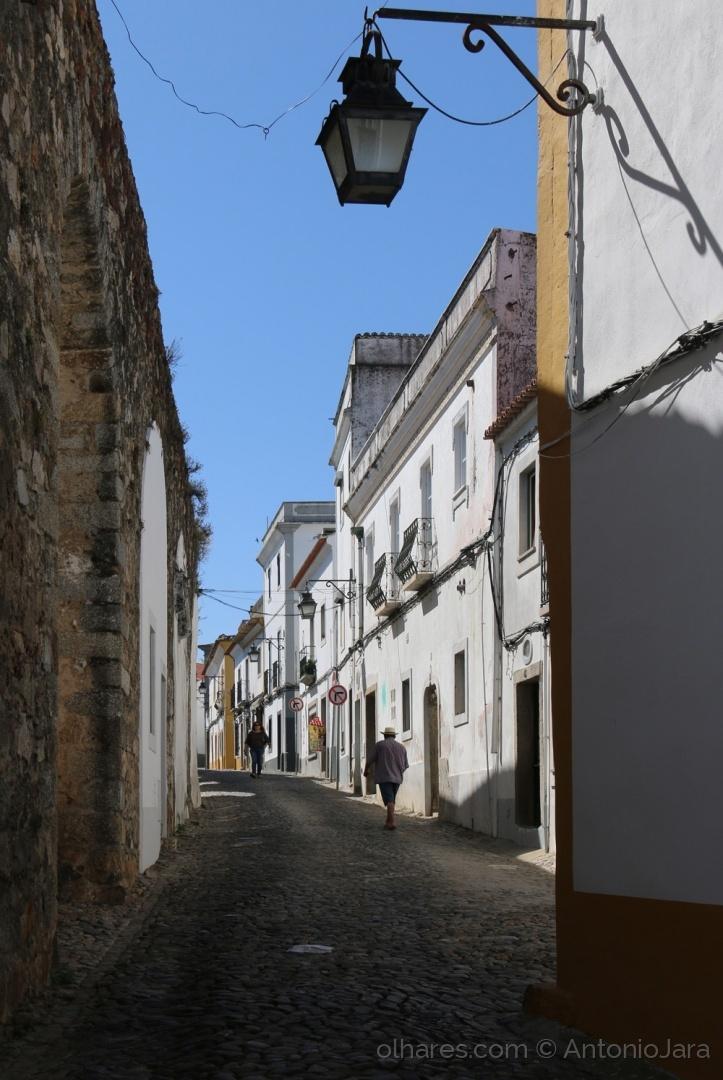 Paisagem Urbana/Rua do Cano (Évora )