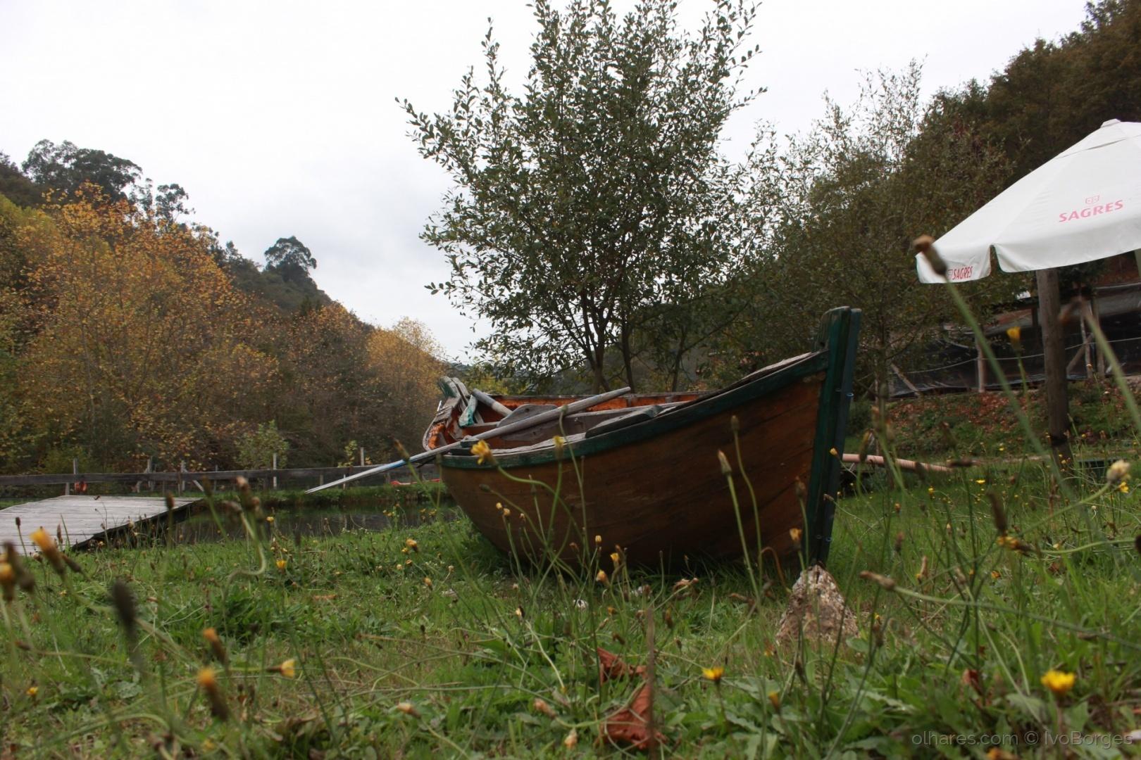 Gentes e Locais/Barco no campo...