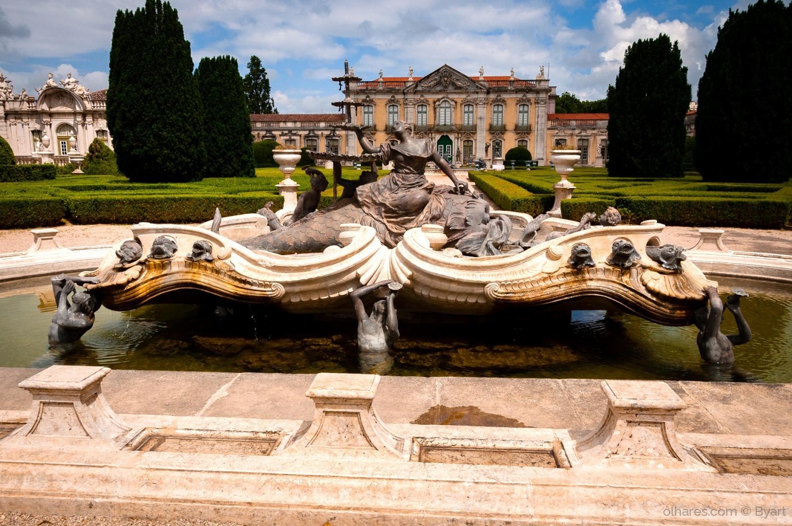 História/Jardim do Palácio de Queluz