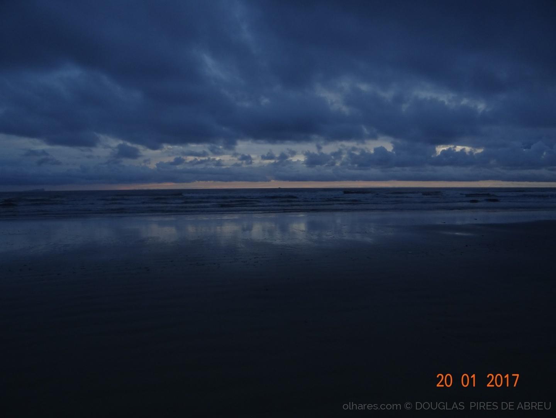 Paisagem Natural/Praia,  Céu e Mar