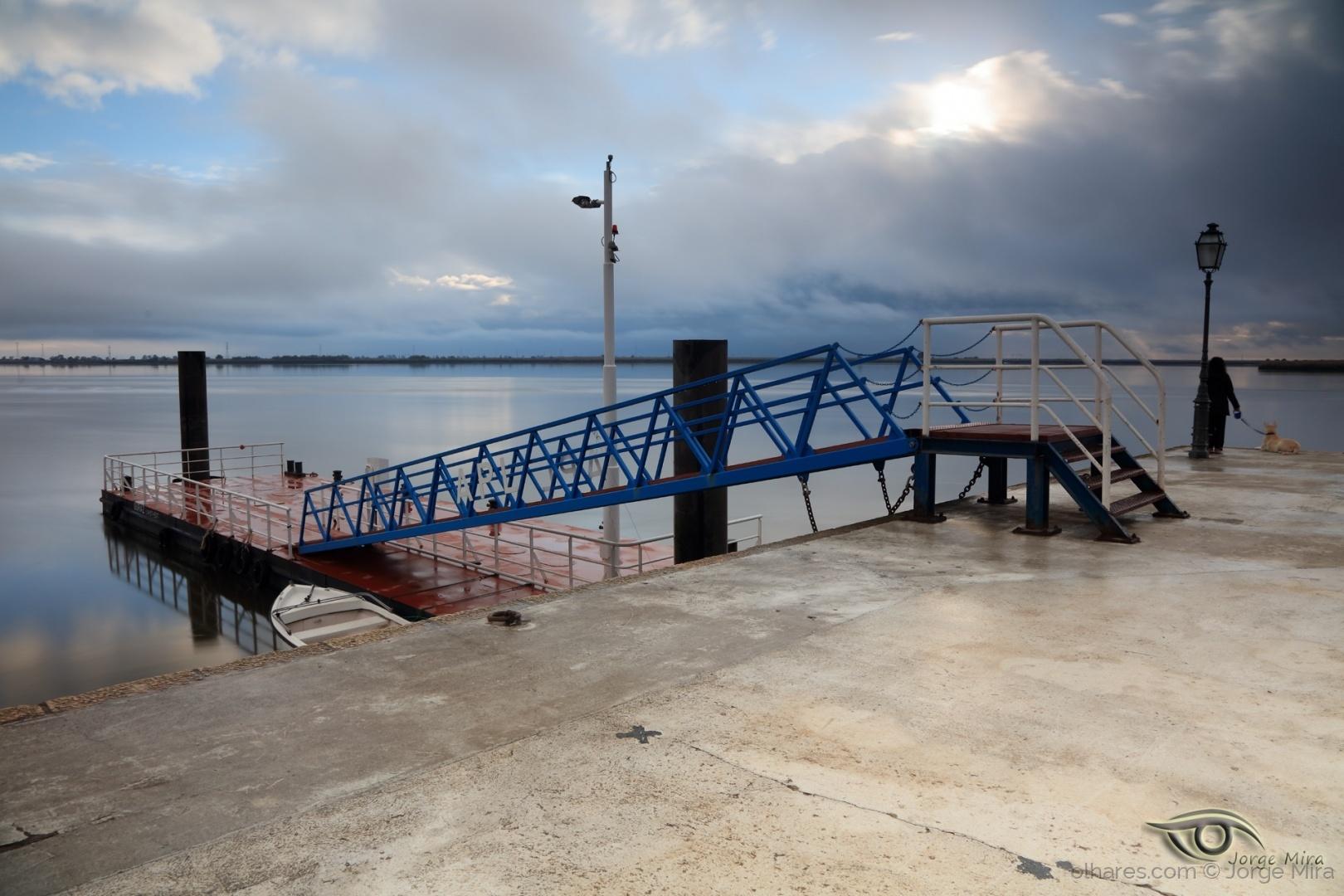 Paisagem Urbana/Amanhecer em Alhandra