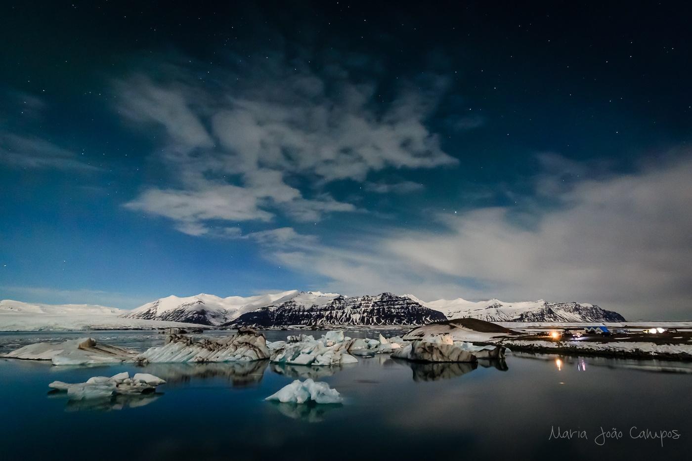 Paisagem Natural/Lagoa Glaciar