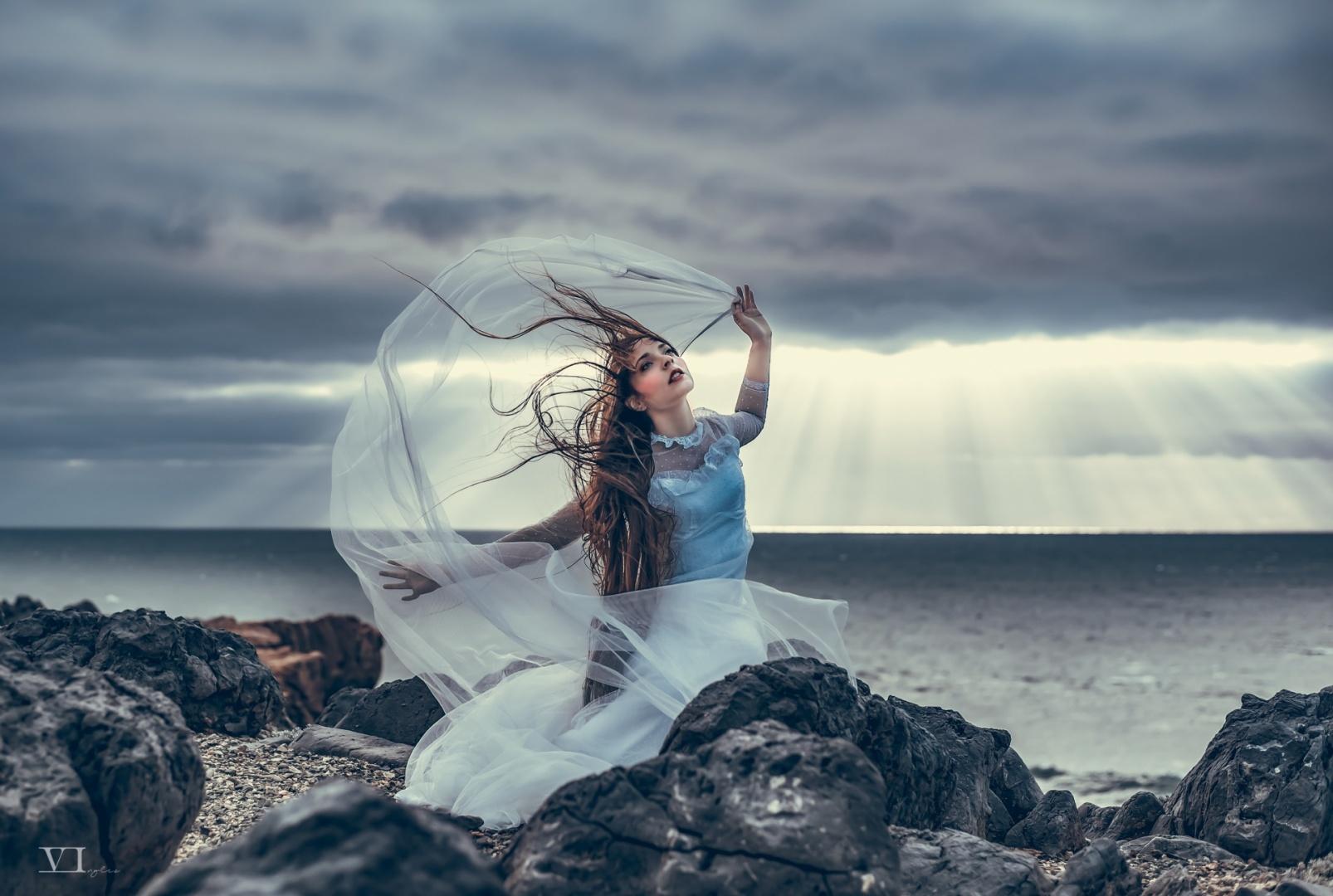 Retratos/Azul místico