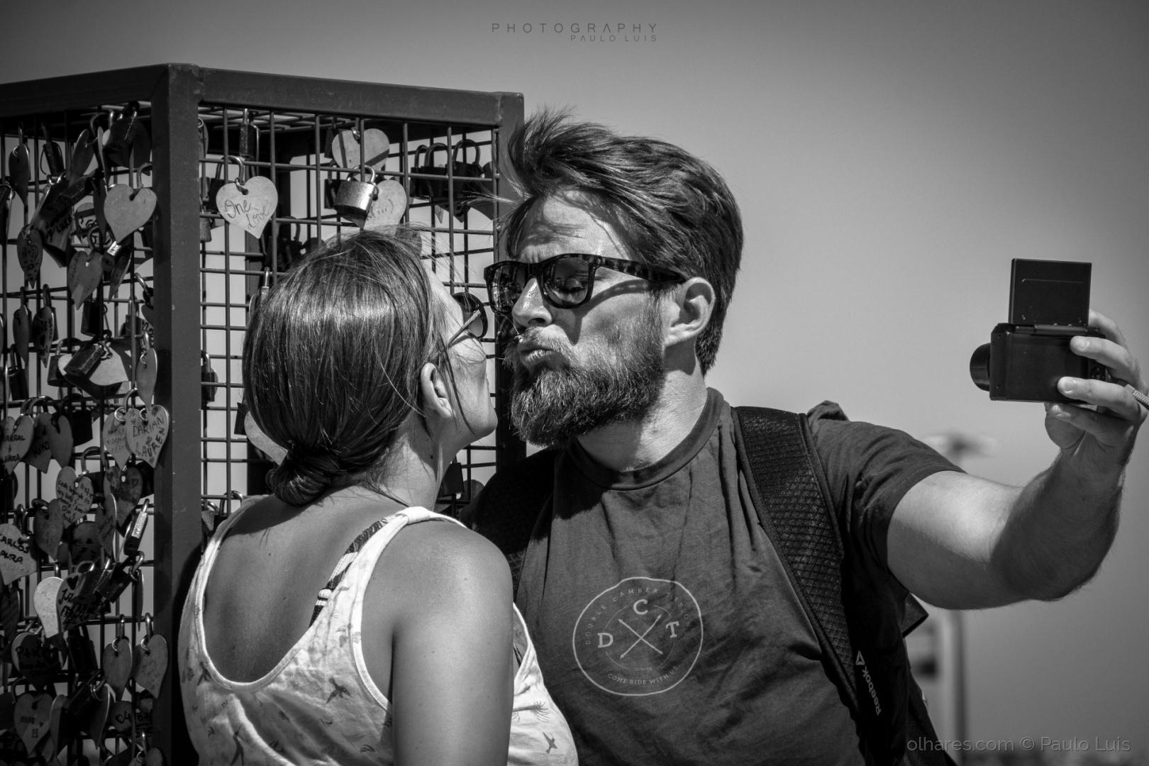 Retratos/Beijo para mais tarde recordar