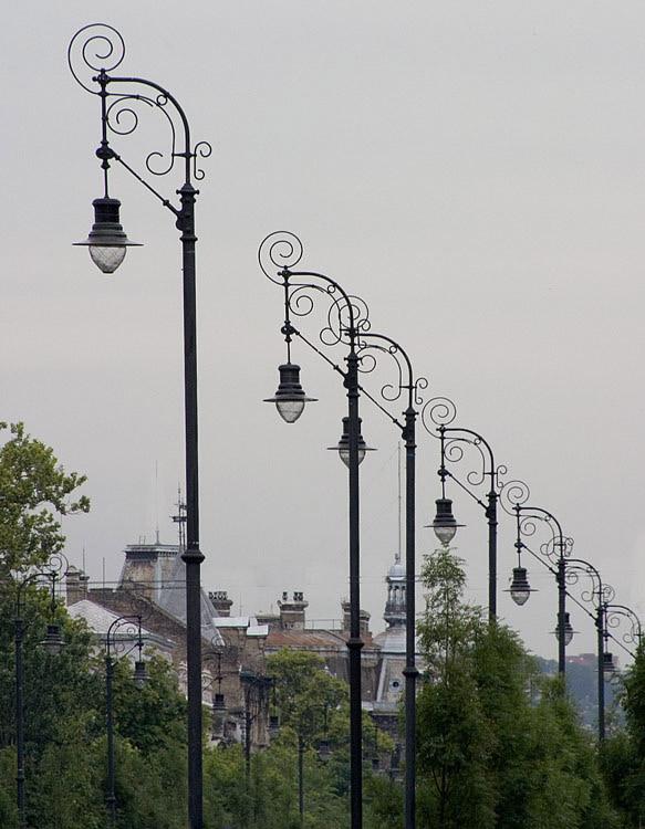 Paisagem Urbana/Os candeeiros da cidade