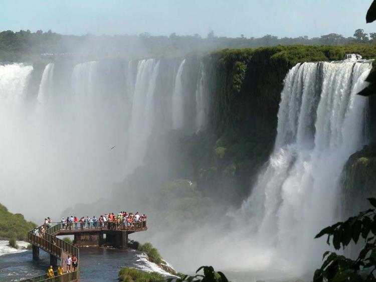 Paisagem Natural/Cataratas de Foz do Iguaçú
