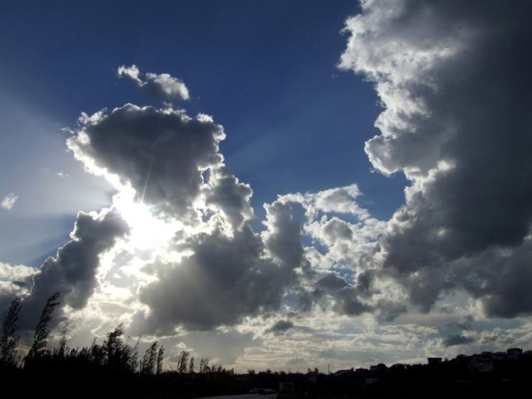 Paisagem Urbana/O Sol à espreita...