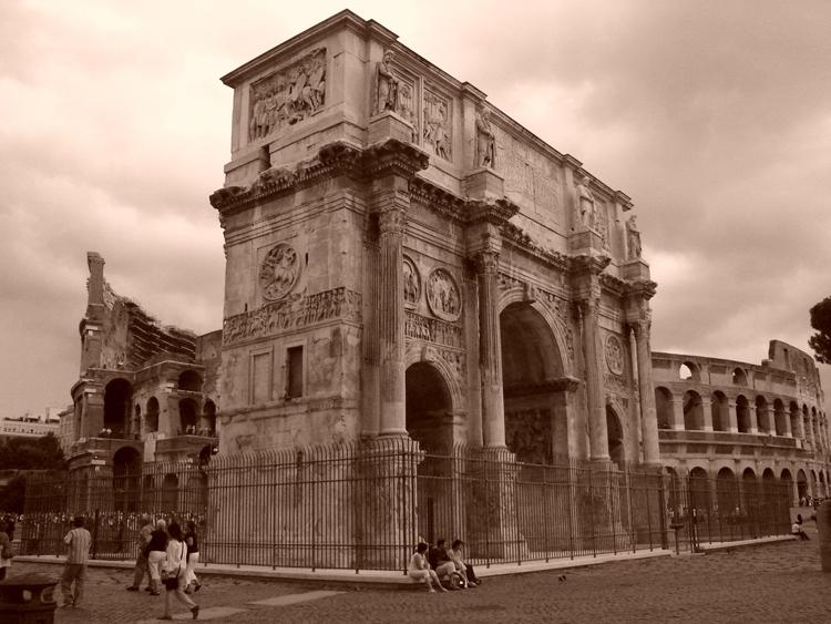 Outros/Coliseu e Arco de Constantino