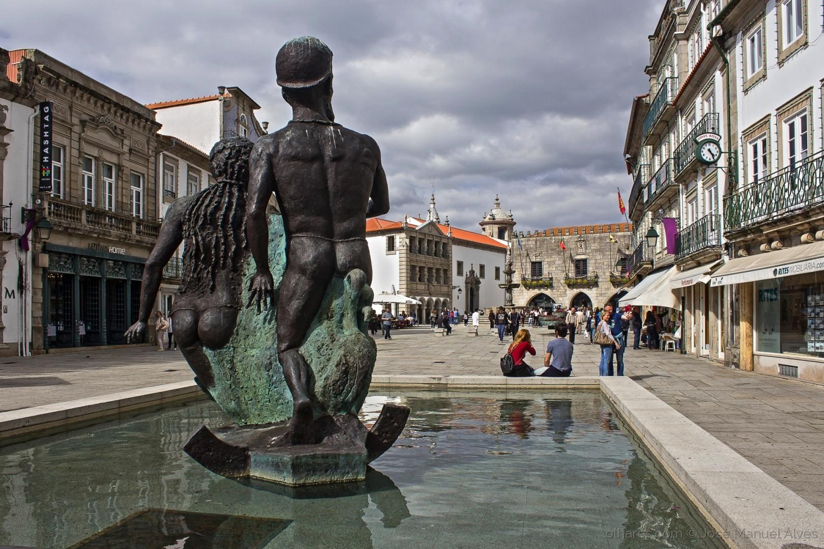 Paisagem Urbana/A Praça