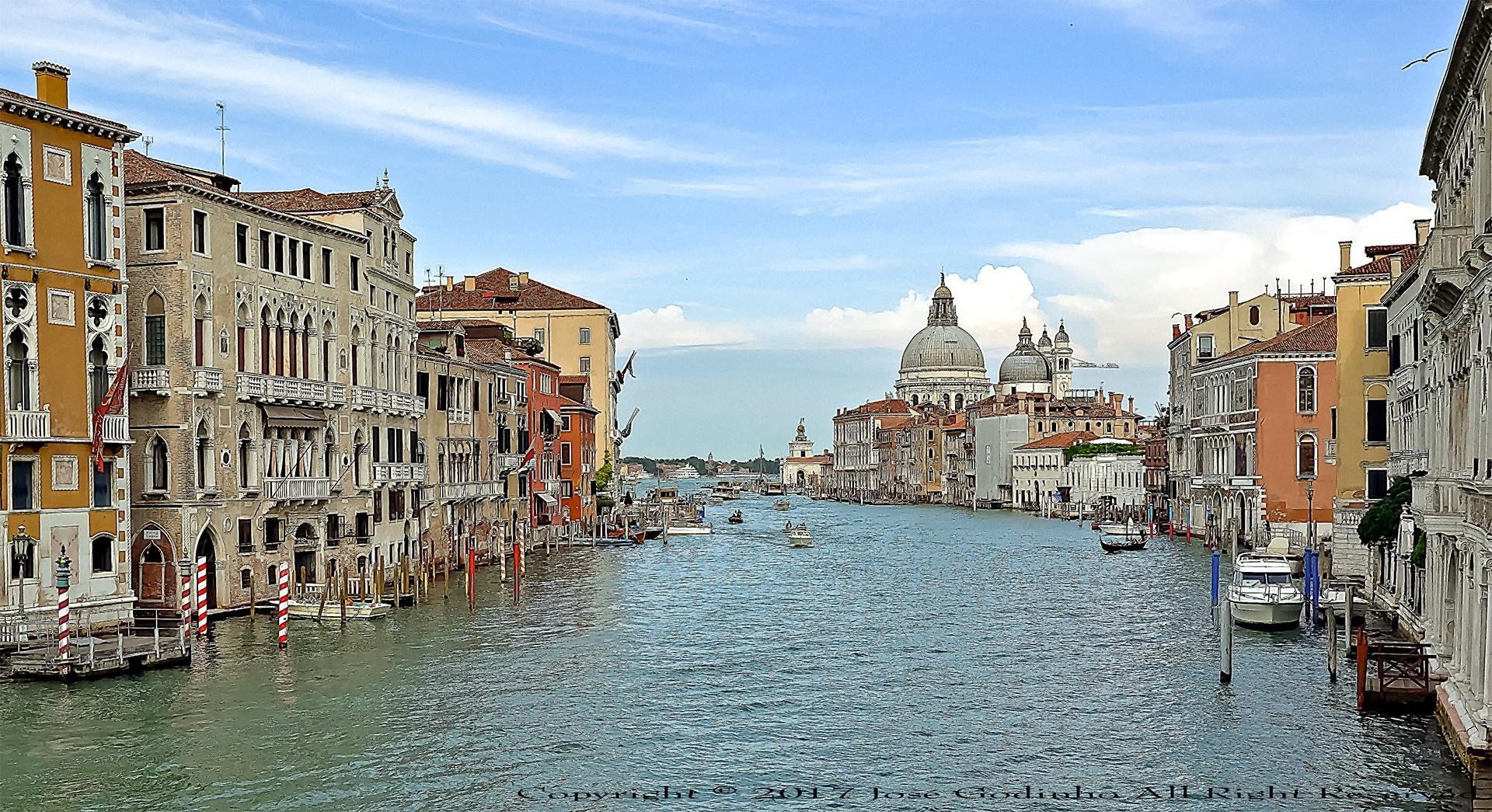 Paisagem Urbana/Veneza - Itália (Do meu livro)