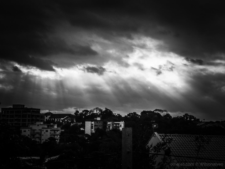 Paisagem Urbana/momento divino...