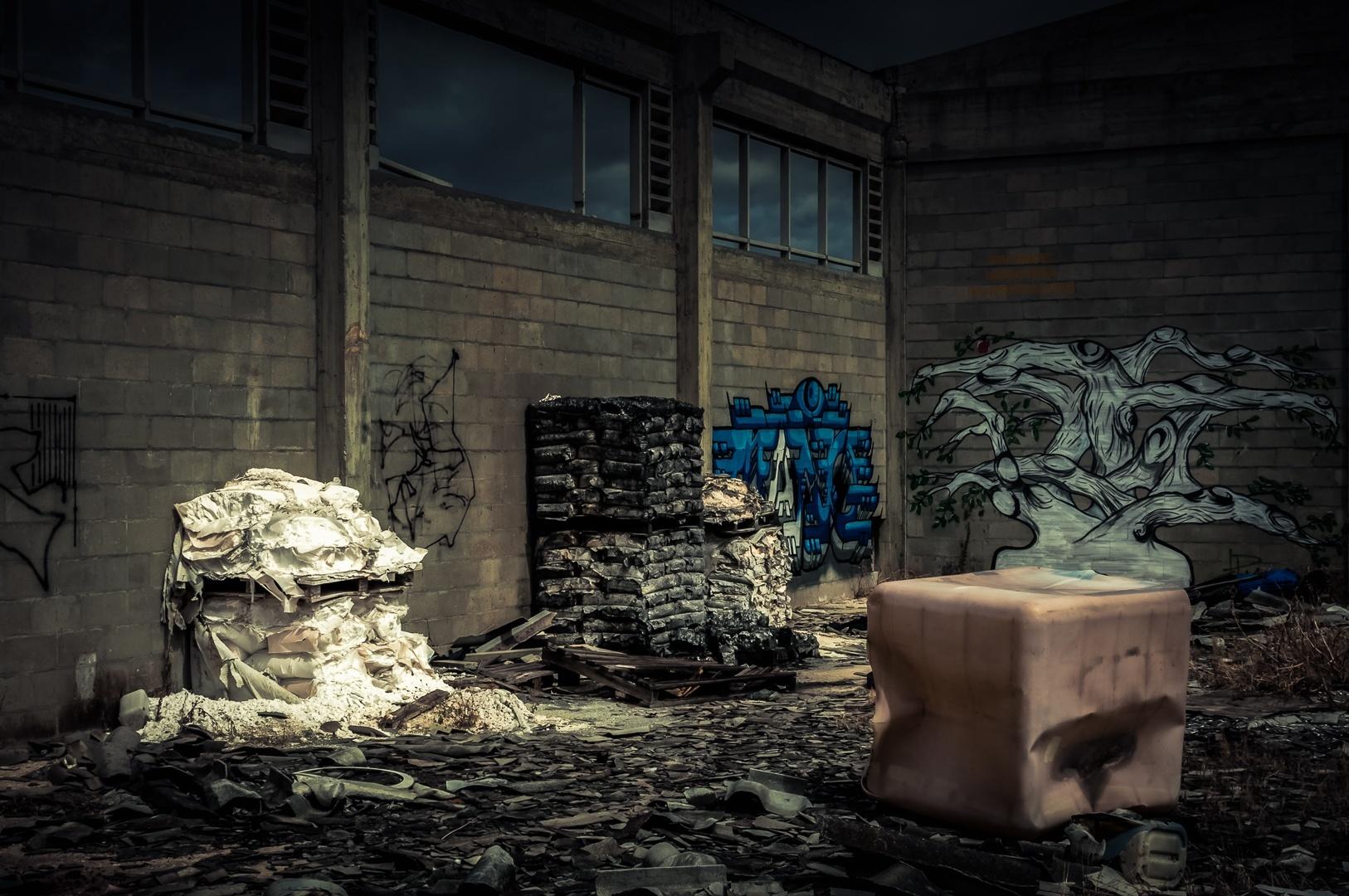 Fotojornalismo/ Resíduos tóxicos abandonados