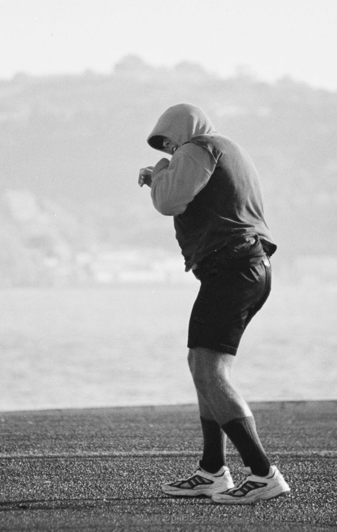 Desporto e Ação/O homem que treinava boxe