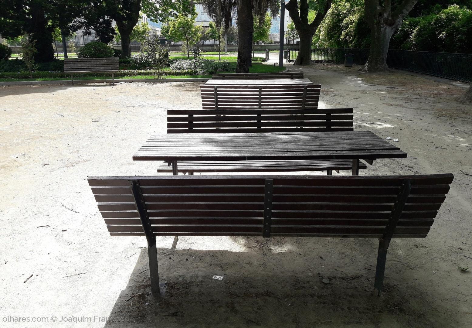 Paisagem Urbana/Bancos de Jardim