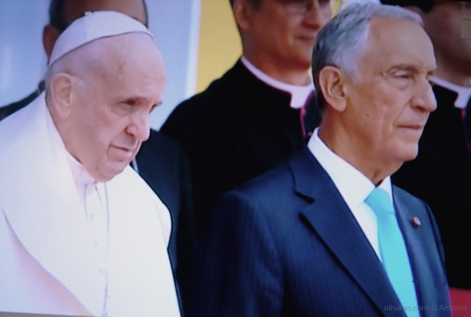 Retratos/O Papa e o Presidente (ler)