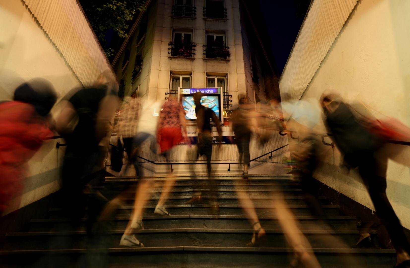 Arte Digital/Metro La Fourche 21h53