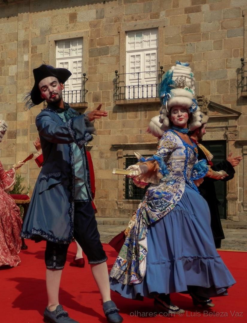 Espetáculos/Danças no Largo do Paço  -BRAGA BARROCA-