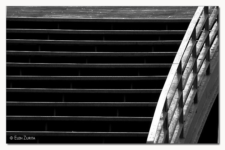 Abstrato/Ponte. linhas e curvas
