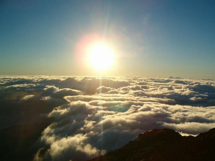 Paisagem Natural/Pôr do sol no Pico