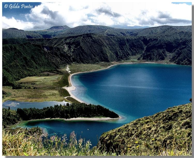 Paisagem Natural/A Lagoa mais linda...