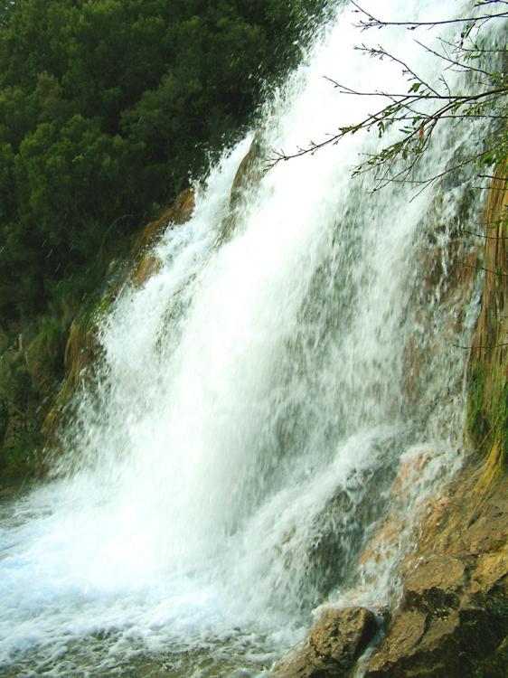 Paisagem Natural/Agua em queda