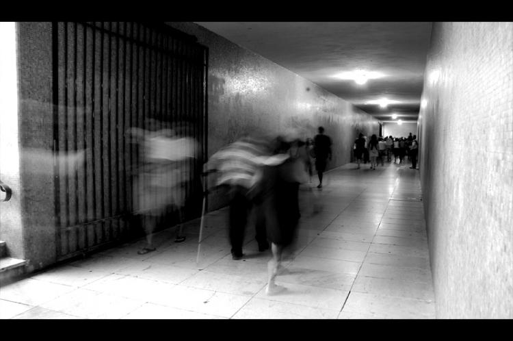 Paisagem Urbana/espectros carnais