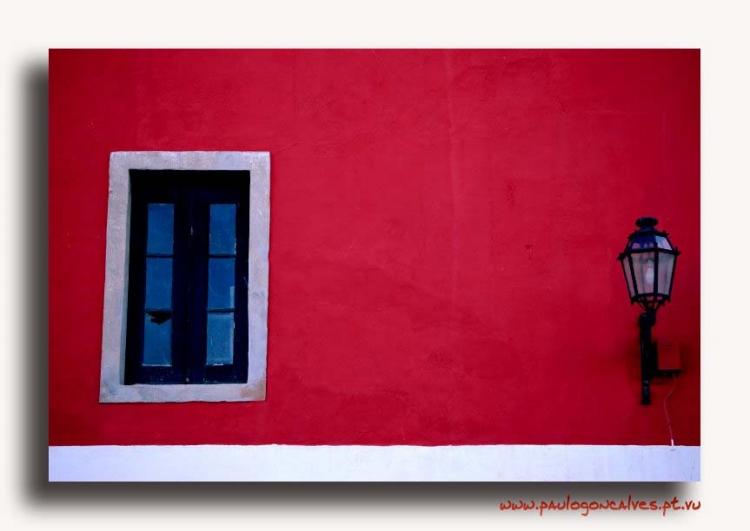 Paisagem Urbana/Lagos a vermelho