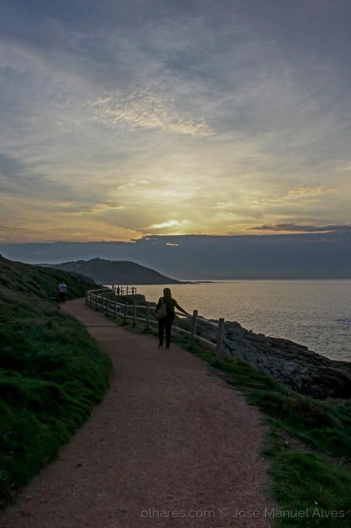 Paisagem Natural/O caminho ao pé do mar