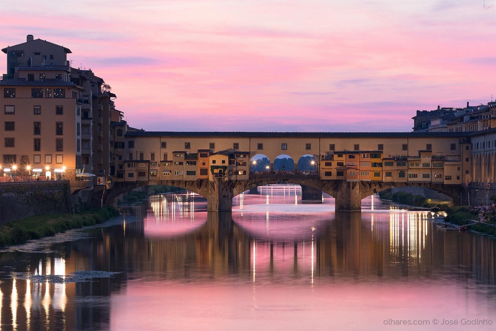 Paisagem Urbana/Florença - Ponte Vecchio