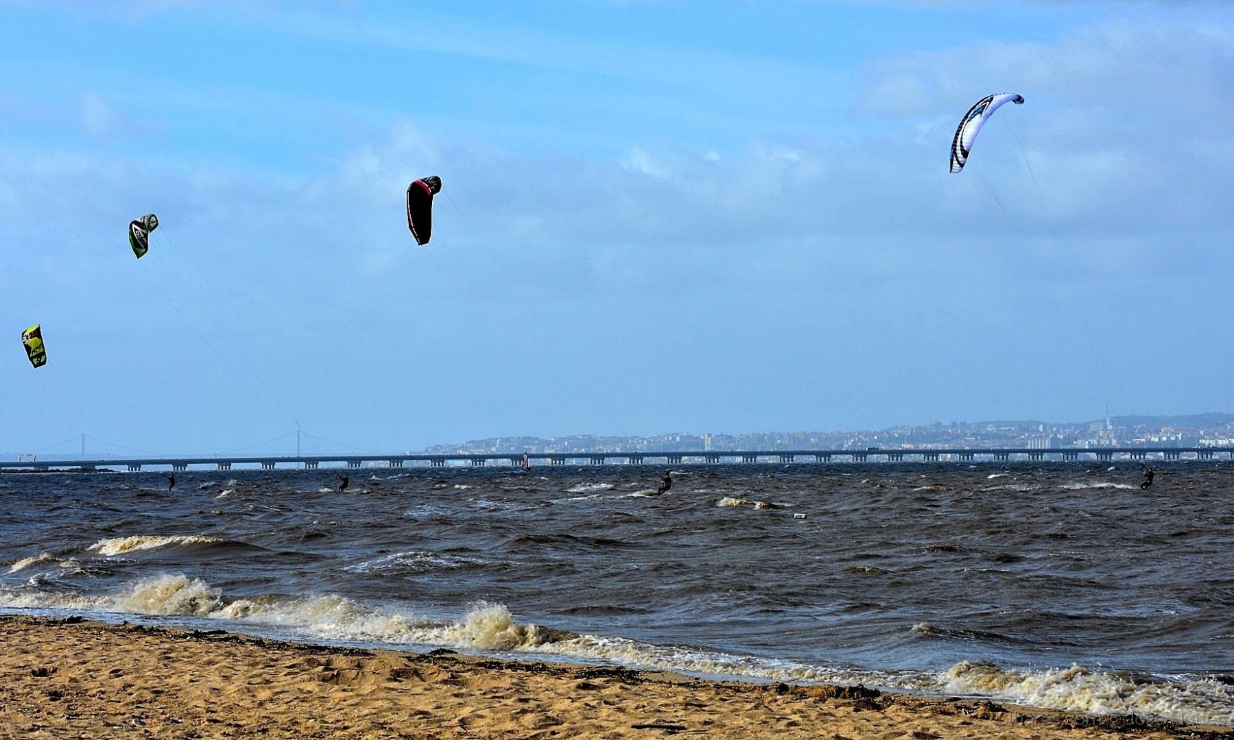 Desporto e Ação/Kitesurfing no Tejo