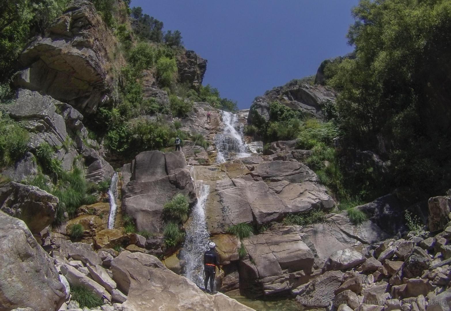 Desporto e Ação/Canyoning no rio Teixeira