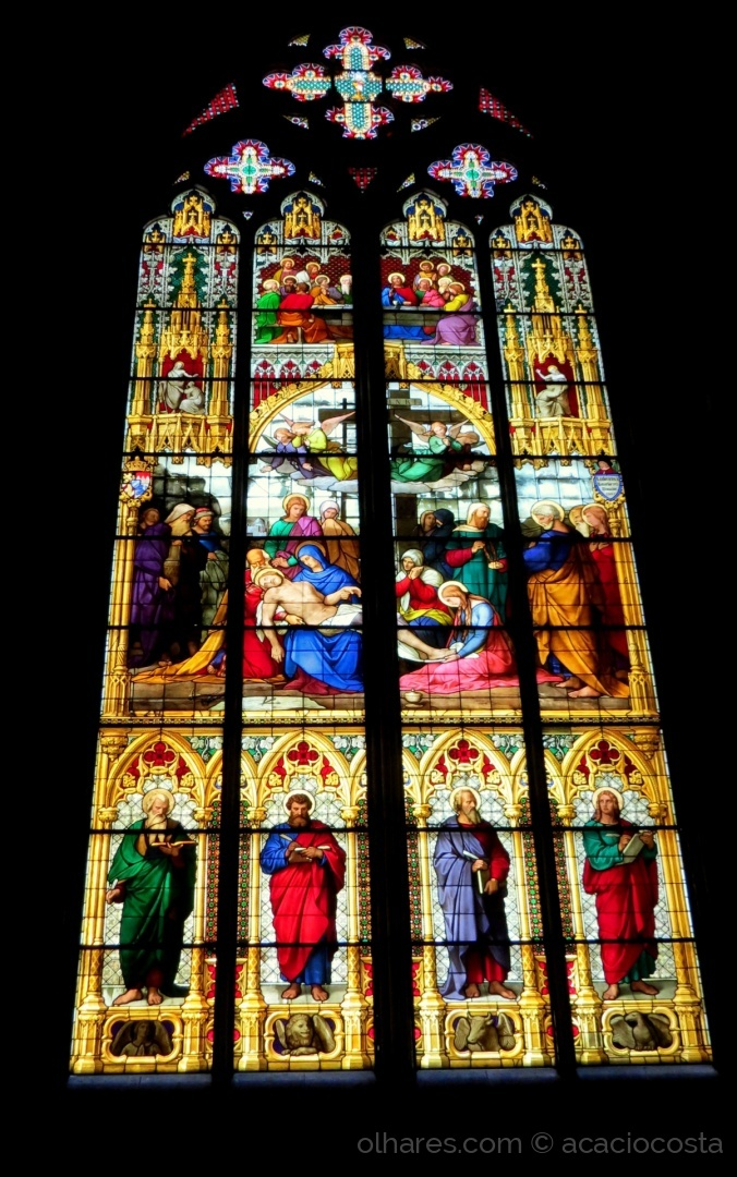 Outros/Kölner Dom - vitrais.