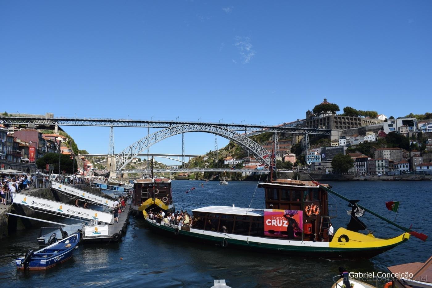 Paisagem Urbana/Ribeira do Porto ( Ponte D. Luís )