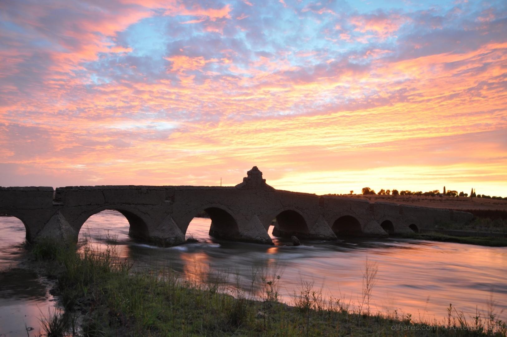 Paisagem Natural/Ponte velha, ribeira do Alvito