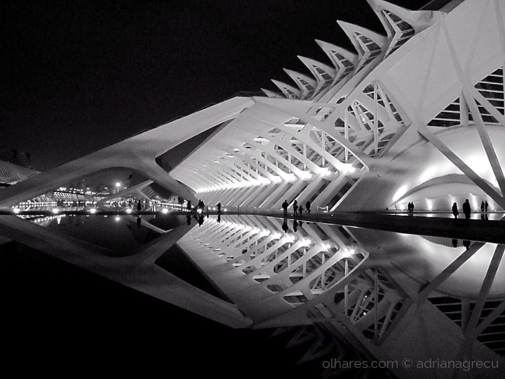 Paisagem Urbana/Noite em Valencia