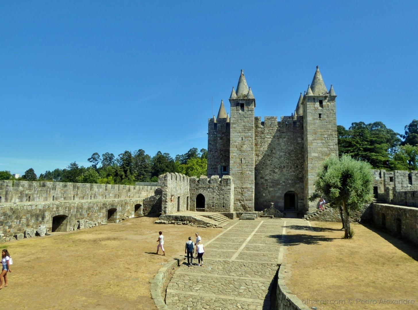 História/No interior do Castelo da Feira
