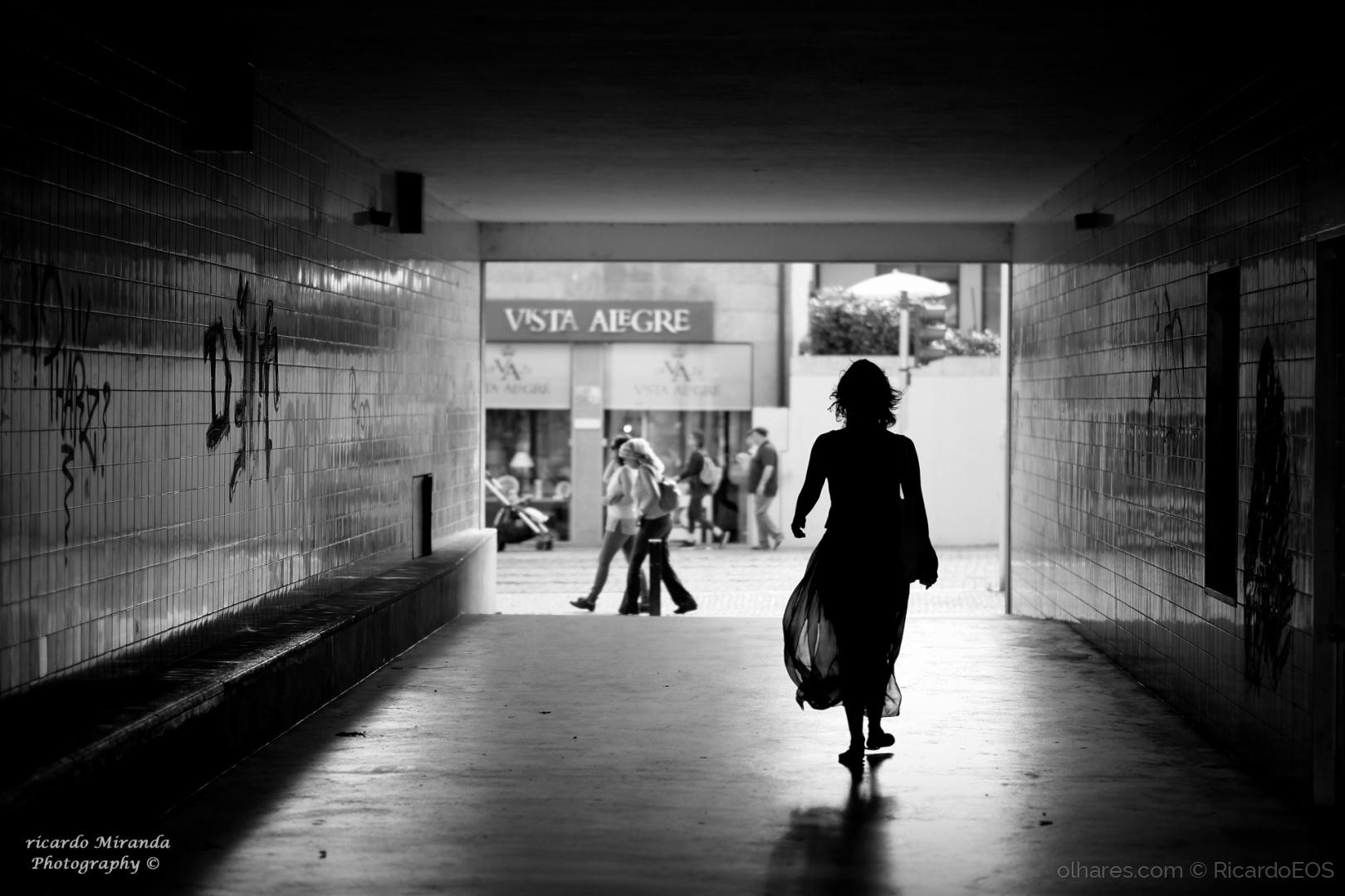 Paisagem Urbana/Ela não anda...ela desfila! :)