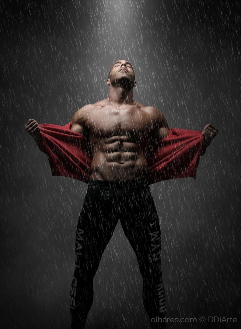 Retratos/O homem à chuva