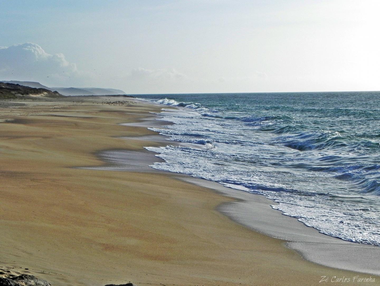 Paisagem Natural/A simplicidade da praia deserta!