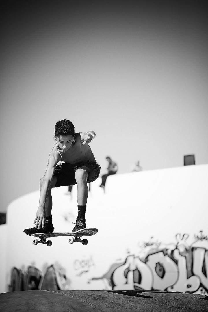 Desporto e Ação/Super Skate kid !