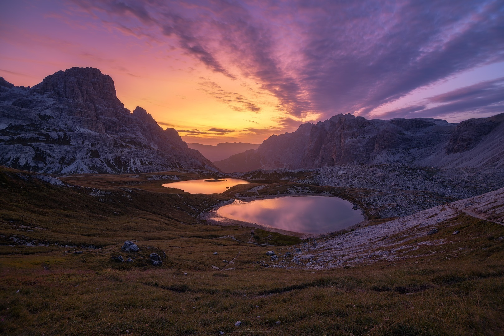 Paisagem Natural/Dawn of the Dolomites