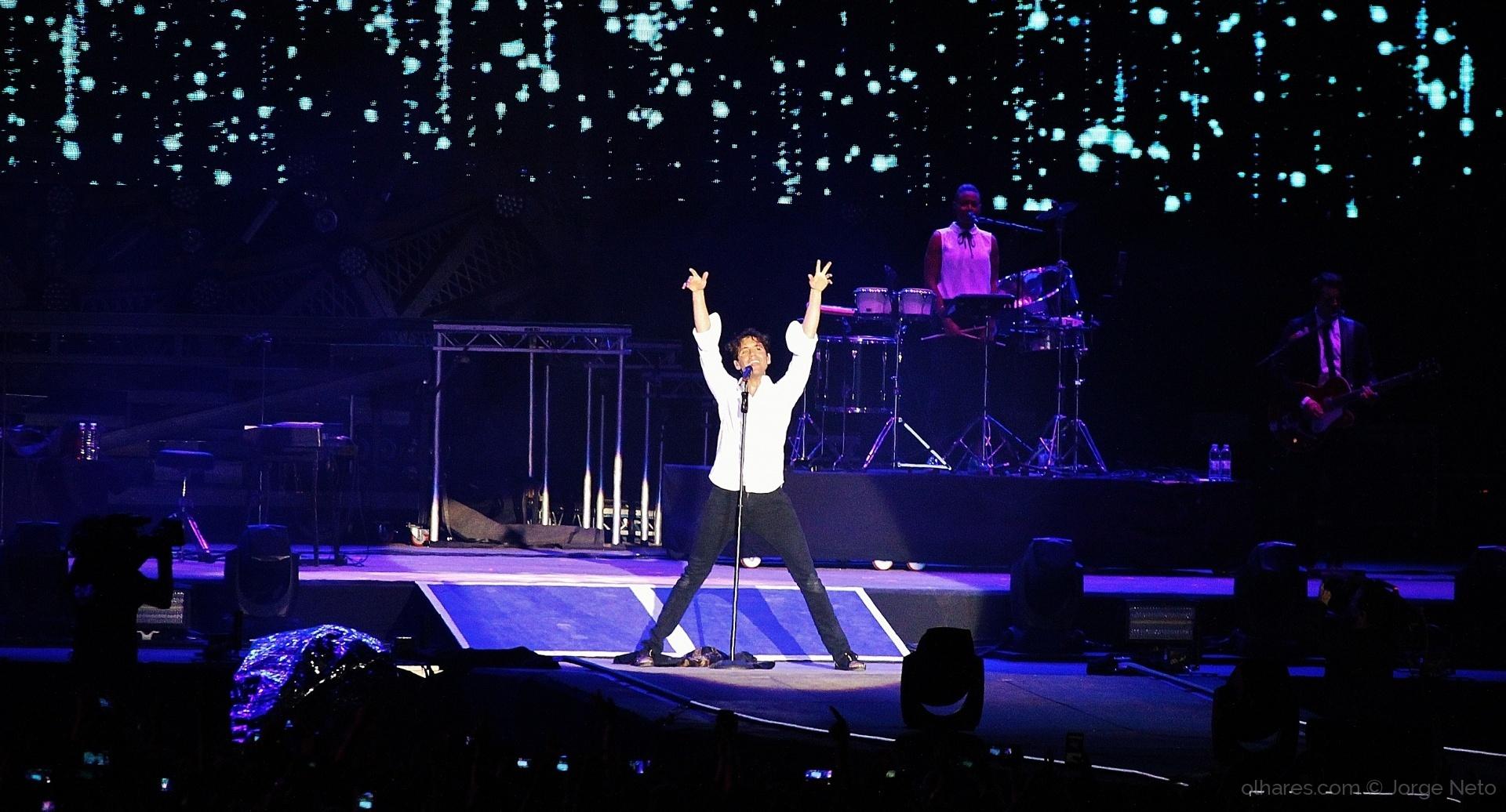 Espetáculos/Mika no Rock in Rio